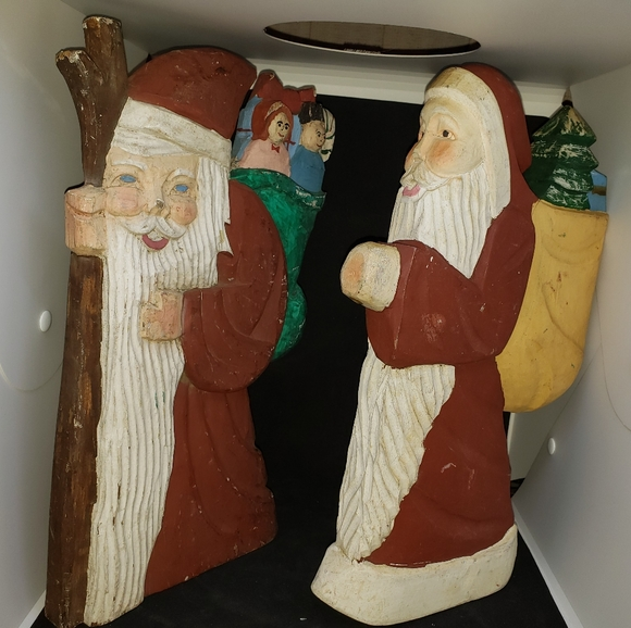 None Other - Christmas Santas wooden I believe.
